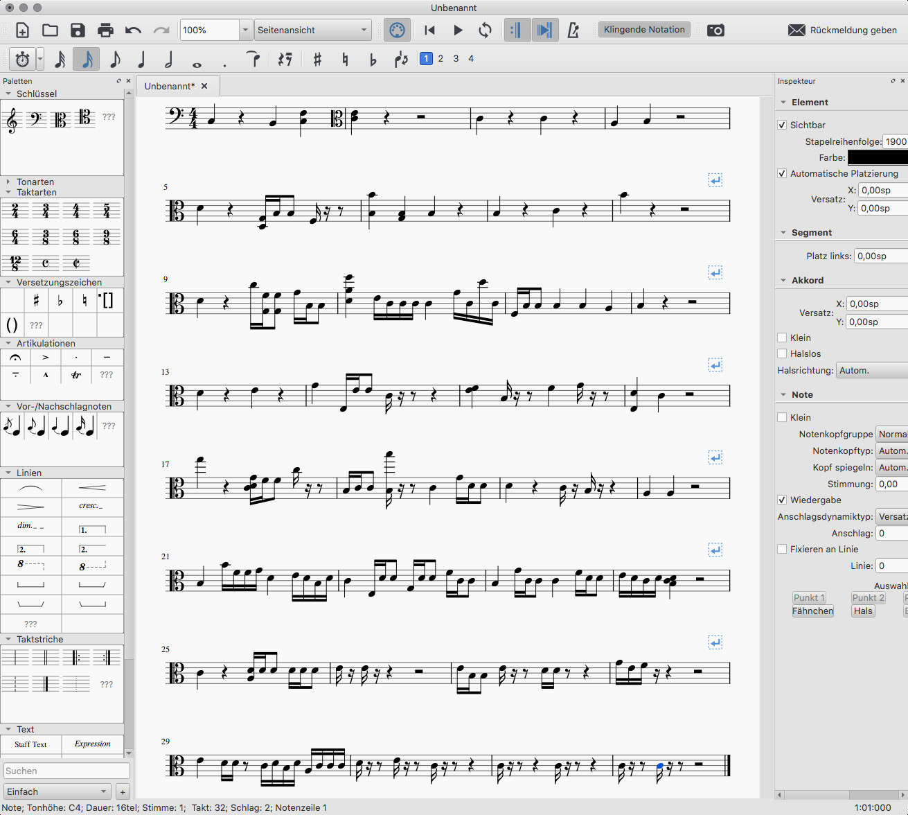 Screenshot 1 - MuseScore (Mac)