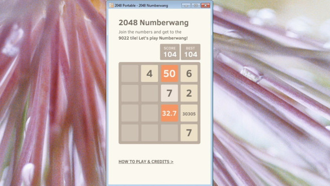 2048 Portable (Rätsel/Denken) ©COMPUTER BILD
