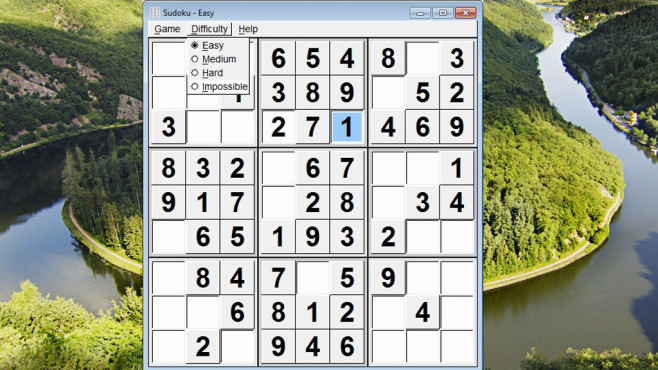 Sudoku Portable (Rätsel/Denken) ©COMPUTER BILD