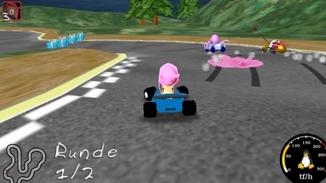 Super TuxKart Portable (Action) © COMPUTER BILD