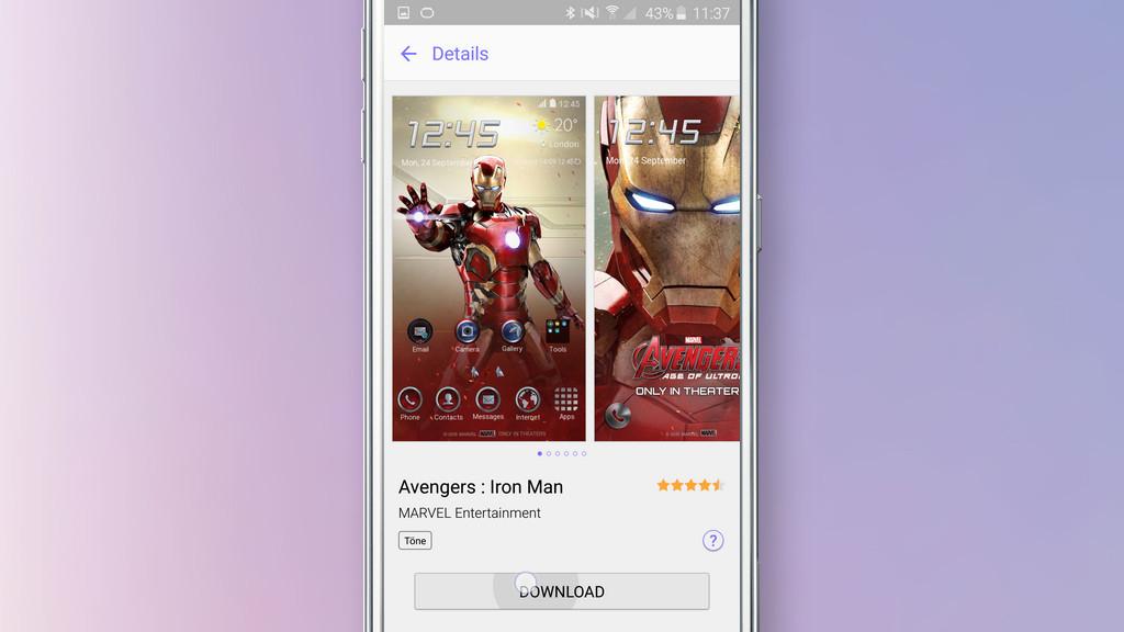 So kommen Sie an die kostenlosen Themes - Bilder, Screenshots
