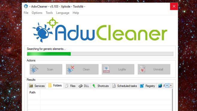 AdwCleaner: Werbeprogramme beseitigen ©COMPUTER BILD