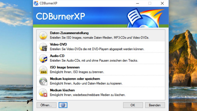 CDBurnerXP: Dateien passgenau brennen ©COMPUTER BILD