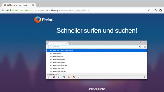 Firefox: Flexibler und moderner Browser ©COMPUTER BILD