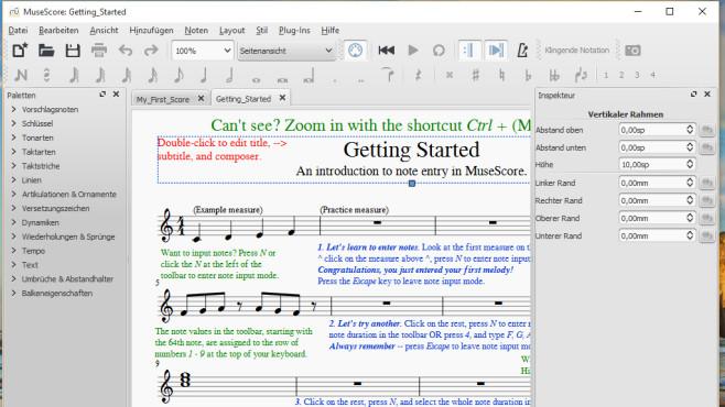 MuseScore: Musizieren und komponieren am PC ©COMPUTER BILD