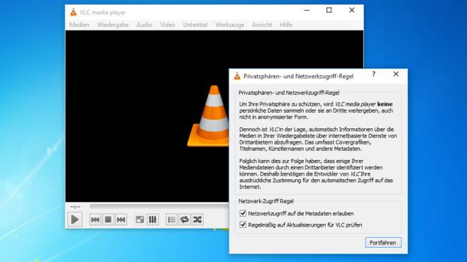 VLC Media Player: Audio- und Videoinhalte abspielen ©COMPUTER BILD