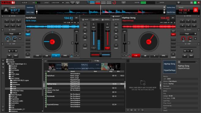 VirtualDJ: Musik kreativ auflegen ©COMPUTER BILD