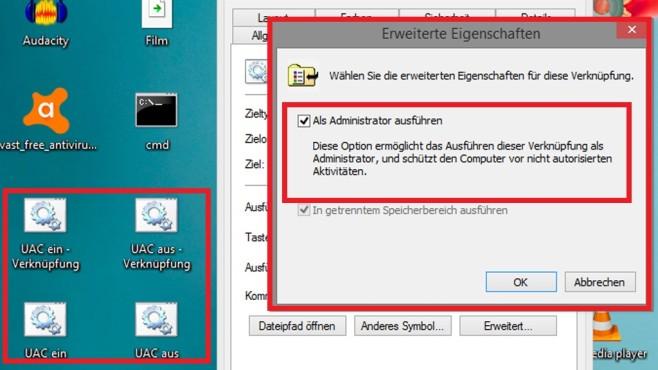 Windows 7/8/10: Benutzerkonten-Steuerung zeitweise abschalten©COMPUTER BILD