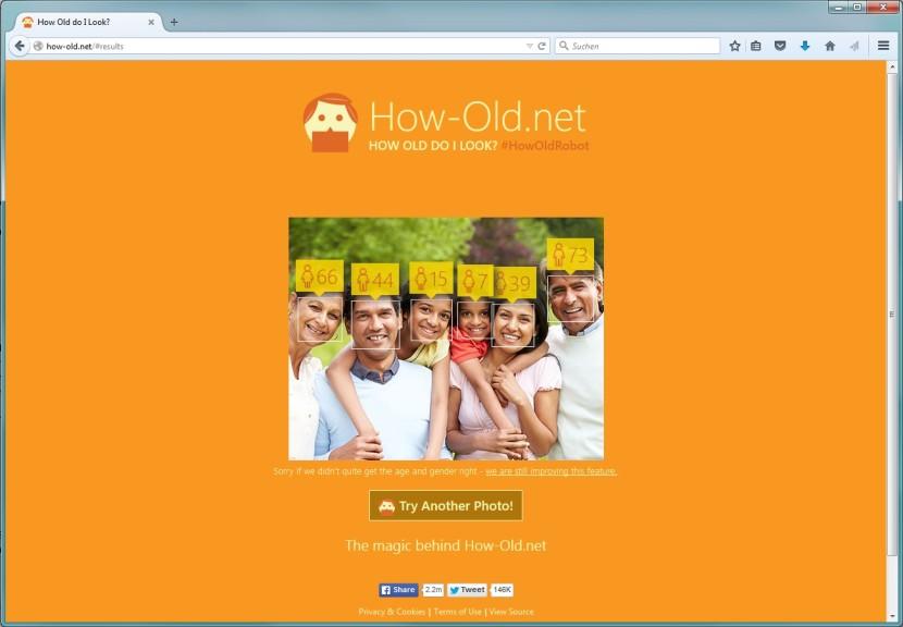 Screenshot 1 - How Old Do I Look