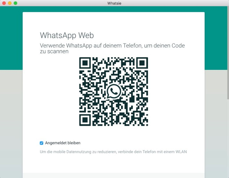 Screenshot 1 - Whatsie (WhatsApp for Desktop) (Mac)