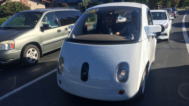 Google Car © COMPUTER BILD