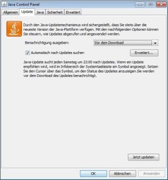 Java Runtime Environment ©COMPUTER BILD