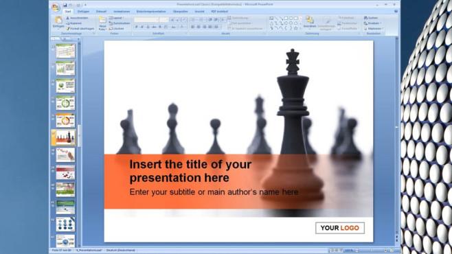 Platz 27: 100 PowerPoint-Vorlagen – Kostenlose Vollversion (Vormonat: Platz 31) ©COMPUTER BILD