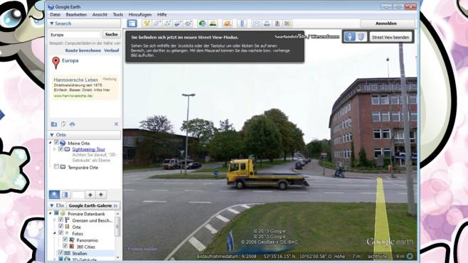 Platz 47: Google Earth (neu) ©COMPUTER BILD