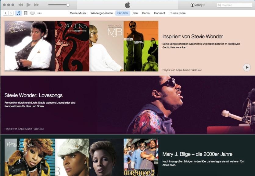 Screenshot 1 - Apple Music