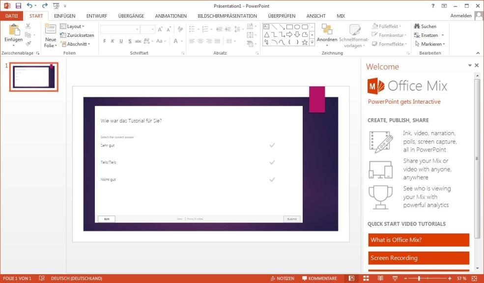 Screenshot 1 - Office-Mix