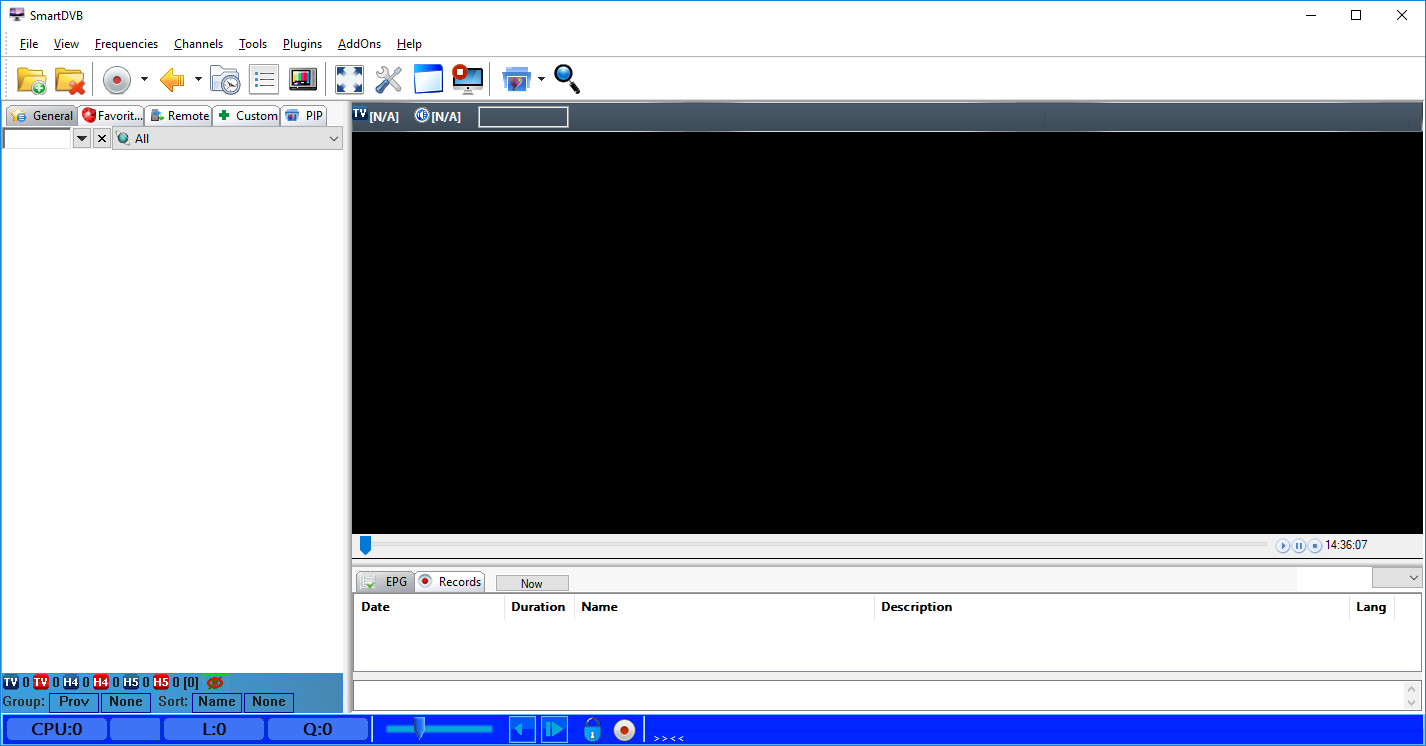 Screenshot 1 - SmartDVB