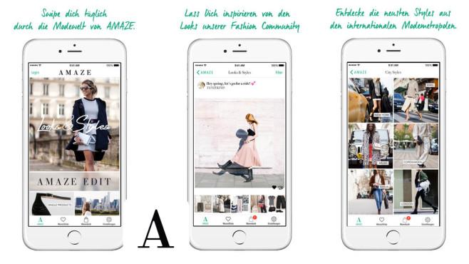 Amaze – Mode & Shopping ©TheAmazeApp UG