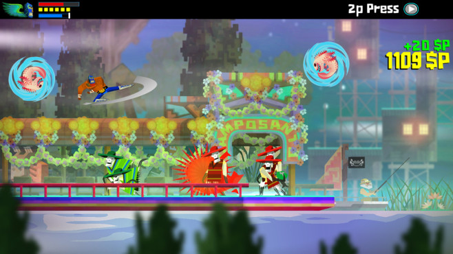 Guacamelee – Super Turbo Championship Edition © Sony