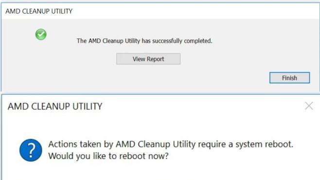 AMD Cleanup Utility ©COMPUTER BILD