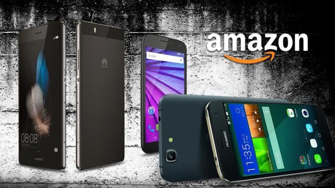 Android-Smartphones bis 250 Euro©amazon, Huawei, Google, George Dolgikh-Fotolia.com