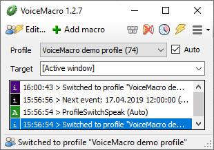 Screenshot 1 - VoiceMacro