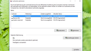 Microsoft Windows 10: Hintergrundtechniken©COMPUTER BILD
