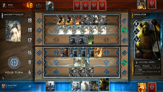 Gwent: The Witcher Card Game © CD Projekt Red