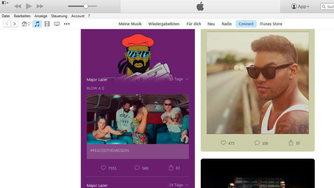 Apple: Netzwerk © Screenshot: Apple/iTunes