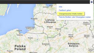 Maps-Missbrauch melden©COMPUTER BILD
