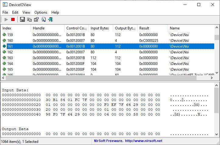 Screenshot 1 - DeviceIOView
