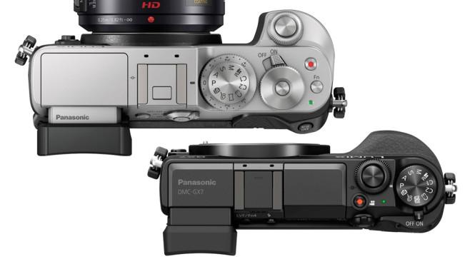 Panasonic Lumix GX8 und Lumix GX7©Panasonic