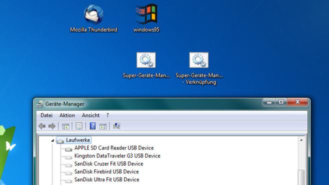 Windows 7: Alle Geräte im Geräte-Manager anzeigen©COMPUTER BILD