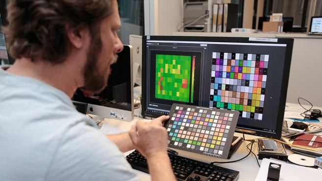 IQ Analyzer prüft Farbtreue©COMPUTER BILD