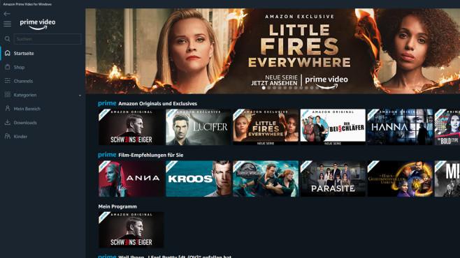 Amazon Prime Video: Filme streamen ©COMPUTER BILD