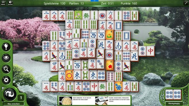 Microsoft Mahjong: Chinesisches Legespiel ©COMPUTER BILD