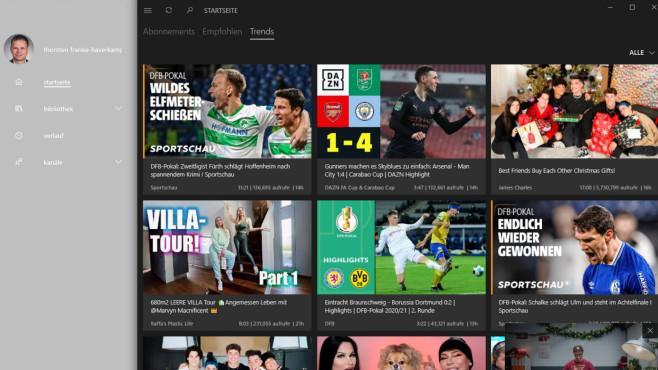 myTube: Moderner YouTube-Client ©COMPUTER BILD