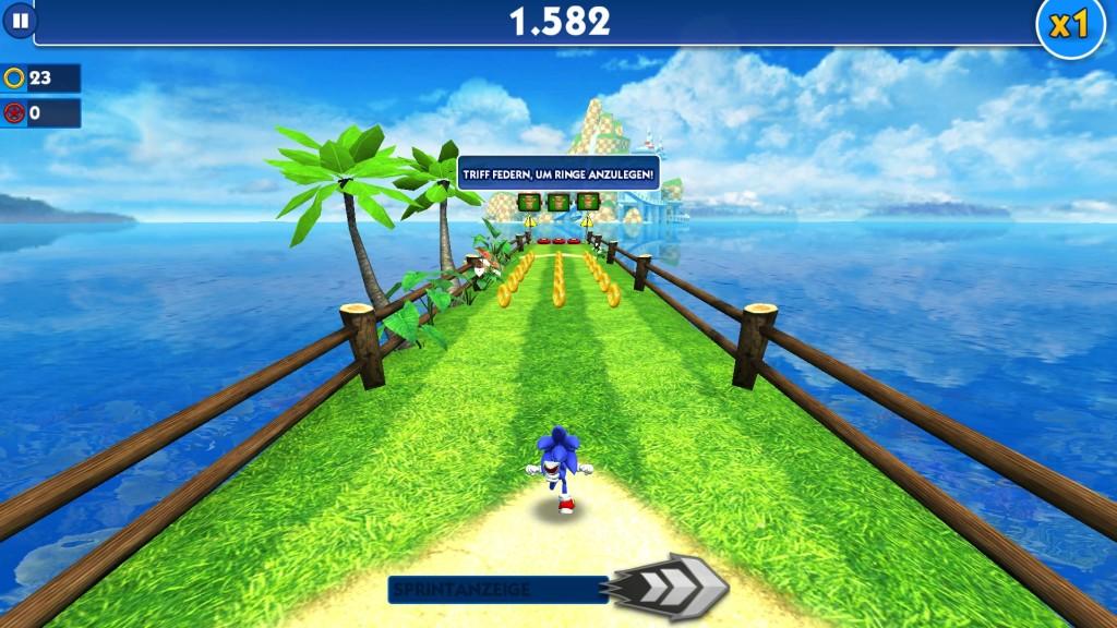 Screenshot 1 - Sonic Dash (App für Windows 10 & 8)