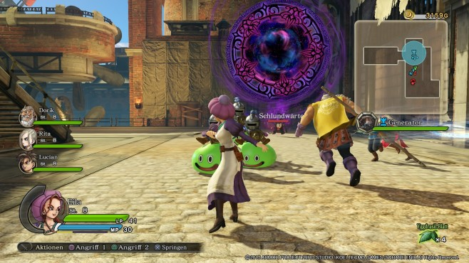 Dragon Quest – Heroes © Square Enix