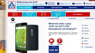 Motorola Moto X Play Aldi Nord©COMPUTER BILD