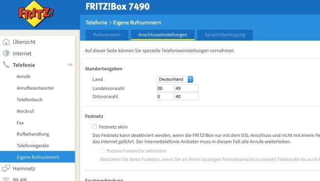 fritzbox internetzugang und telefonie einrichten bilder screenshots computer bild. Black Bedroom Furniture Sets. Home Design Ideas