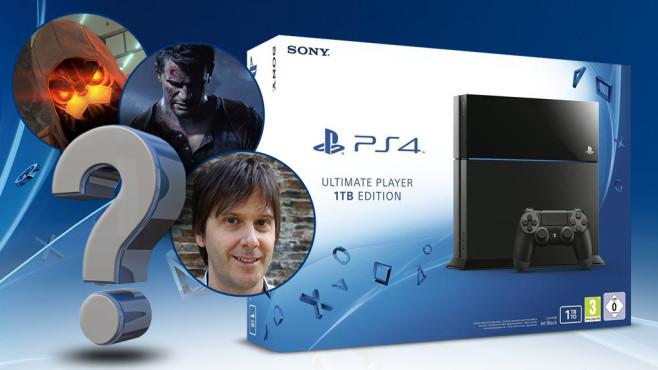 Verlosung: 2x PS4 1TB Ultimate Player Edition gewinnen! Beantworten Sie midestens 9 Fragen richtig, haben Sie eine Gewinnchance auf die PlayStation 4 mit 1 Terabyte Speicher.©Sony, McCarony - Fotolia.com