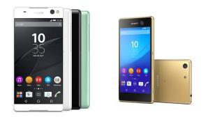 Sony Xperia C5 Ultra und M5©Sony