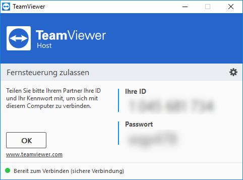 Screenshot 1 - TeamViewer Host