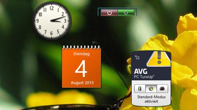 8GadgetPack: Minianwendungen ausführen ©COMPUTER BILD