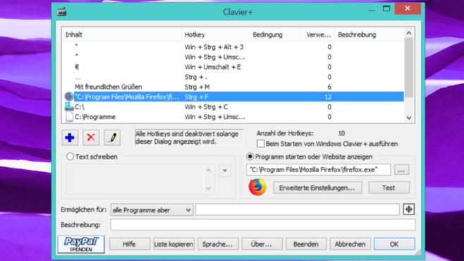 Clavier+: PC automatisieren ©COMPUTER BILD