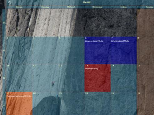 Desktop-Kalender (Desktop Calendar) ©COMPUTER BILD