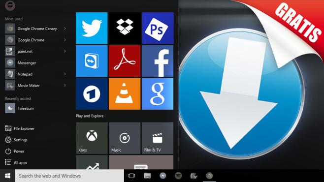 Die besten Apps für Windows 10: Solide Grundausstattung ©COMPUTER BILD