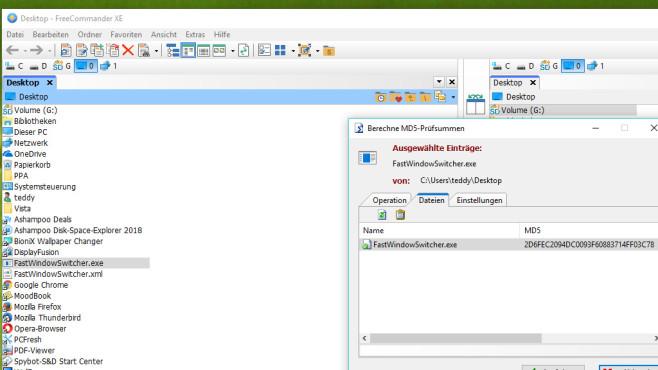 FreeCommander XE: Dateien im Zweifenster-Stil verwalten ©COMPUTER BILD
