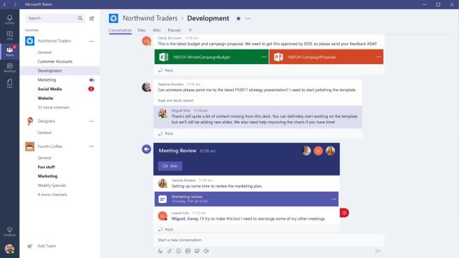 Microsoft Teams: In Gruppen chatten ©COMPUTER BILD